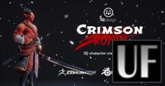 FlippedNormals - Crimson Ronin - PBR Character Creation for Games - Blender
