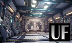 Gumroad - 3D PBR Sci Corridor Tutorial For Game Production - Blender