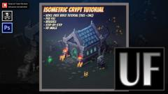 Gumroad - Isometric Crypt by Sephiroth Art - Photoshop