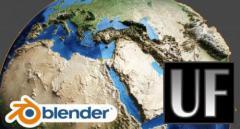 Skillshare - 3D Topoligical Earth in Blender 2.8 - Blender