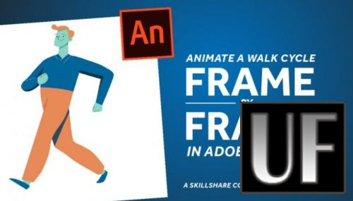 >Skillshare - Animate a Walk Cycle Frame-By-Frame in Adobe Animate