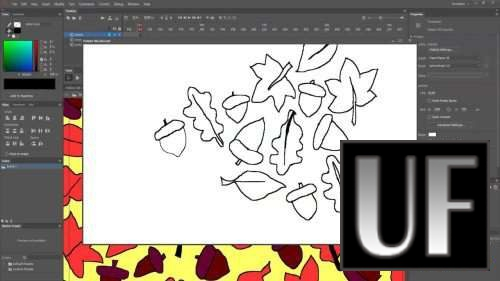 >Skillshare - Create a drawing animation with Adobe Animate