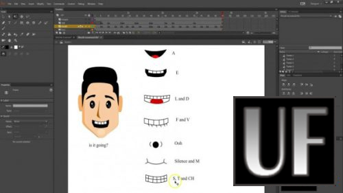 >Skillshare - Create lip sync with Adobe Animate (version 2018)