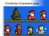2D Christmas Characters Pack