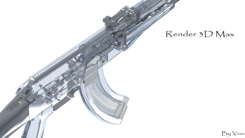 Ak47M1 Fully Detailed