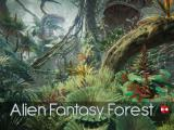 Alien Fantasy Forest - Unity Asset