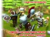 Animated Fantasy Heroes Set