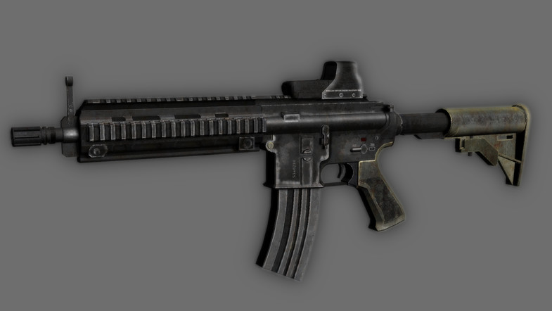 Animated FPS Weapons Pack (Part 1)