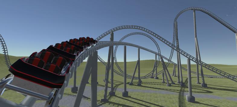 Animated Steel Coaster
