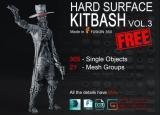Artstation - Hard Surface KitBash Vol 3 - Unity Asset
