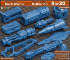 Artstation - Mega Pack KITBASH 500 DETAILS - Unity Asset