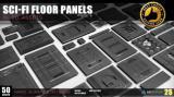 Artstation - Sci-fi floor Panels KitBash 50 assets - Unity Asset