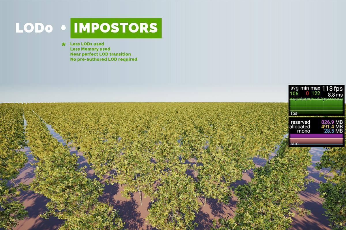 [BETA] The Vegetation Engine • Amplify Impostors Add-on