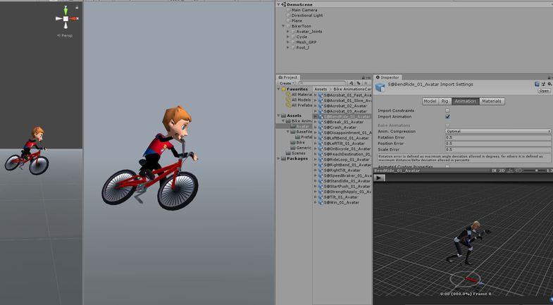 Bike Animations Cartoon