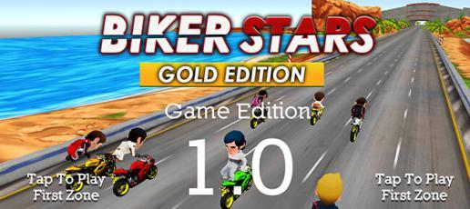 Biker Stars Racer Gold Edition