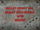 Bullet Impact VFX and Bullet Hole Decals With Sounds - Unity Asset