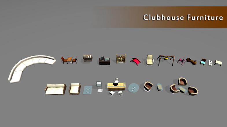 Club House & Tot lot