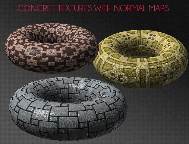 Concrete Colors Materials