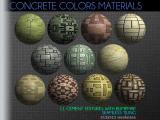 Concrete Colors Materials - Unity Asset
