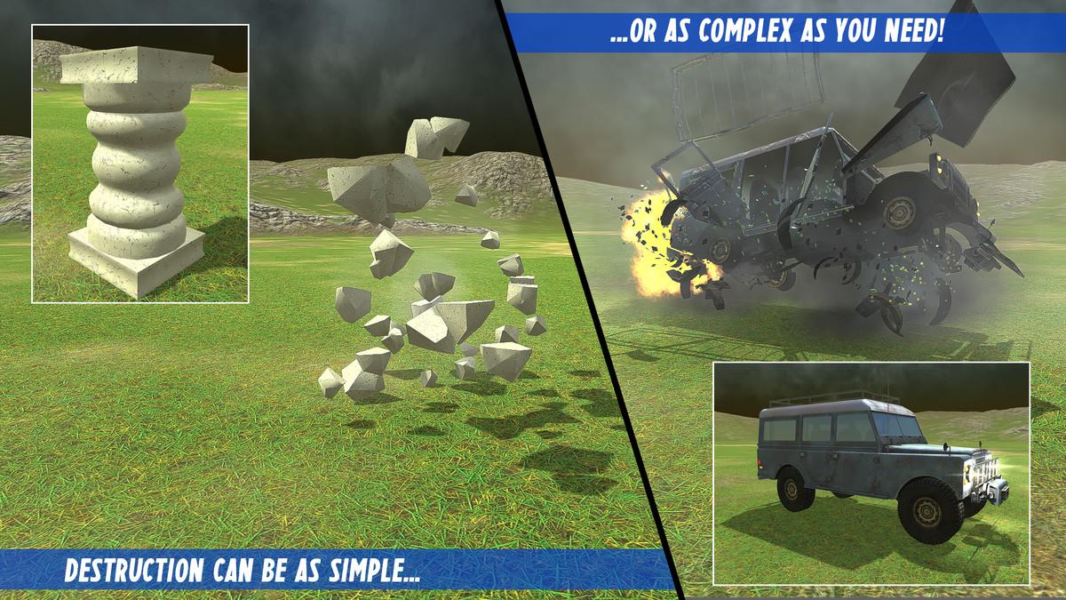 DestroyIt - Destruction System