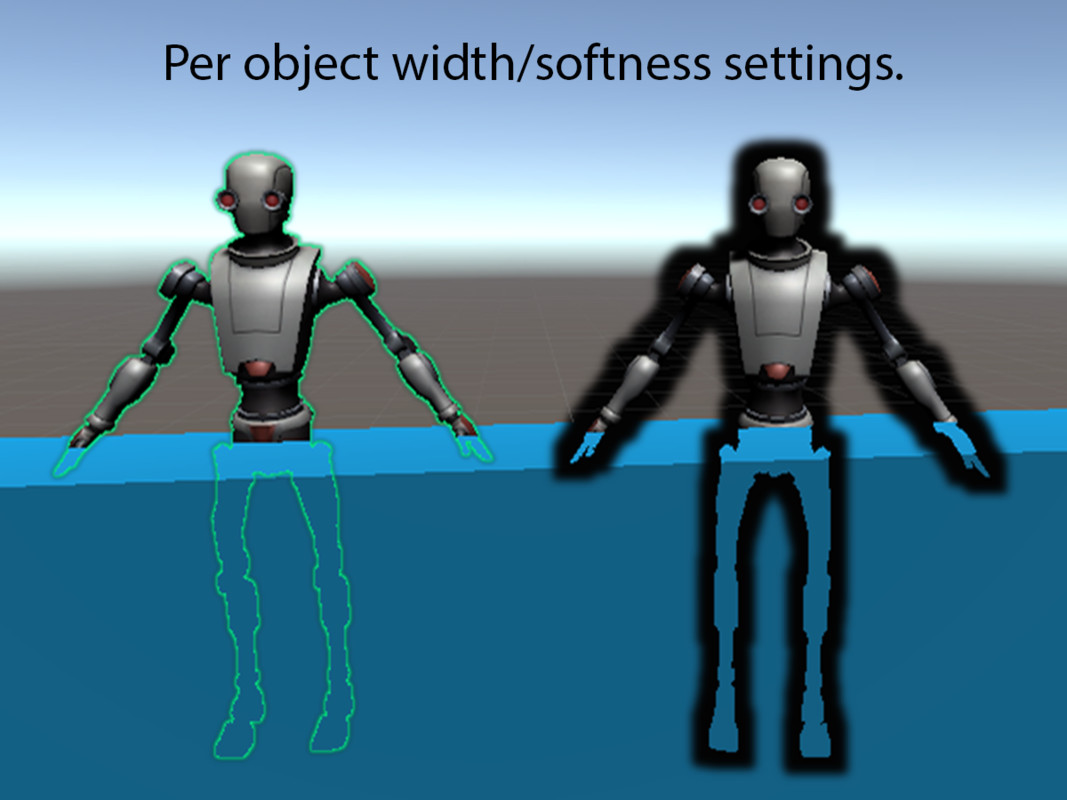 Easy Performant Outline 3D (SRP/LWRP/URP/Default Renderer)