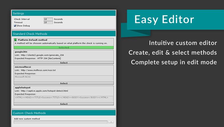 Eazy NetChecker - Reliable Internet Detection