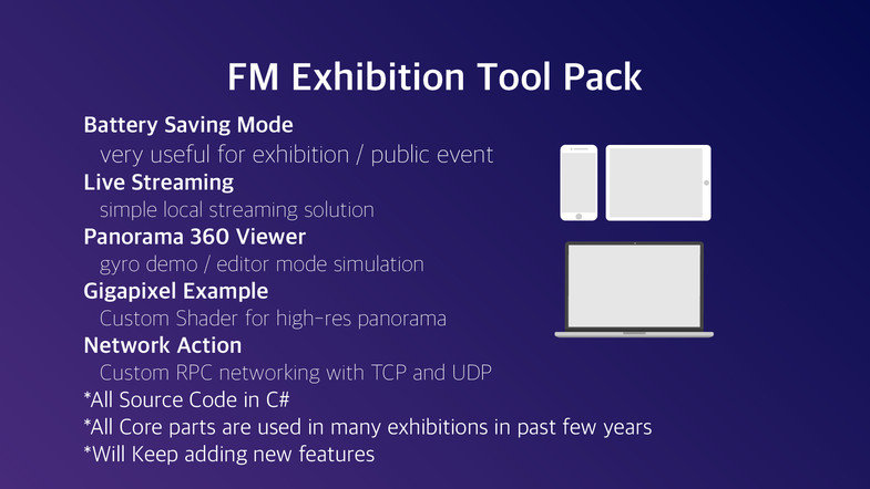 FM Exhibition Tool Pack