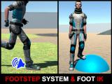 Footsteps Sound System & Foot Placement IK - Unity Asset