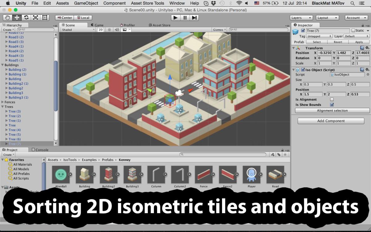 Isometric 2.5D Toolset