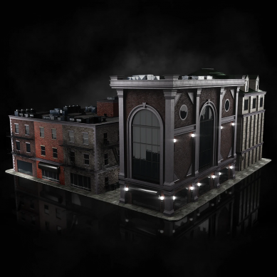 Kitbash3D Brooklyn Unity