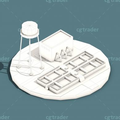 Low Poly Water Cleaning