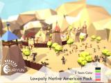 Lowpoly Native American Pack - Unity Asset