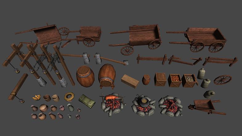 Make Your Fantasy Game - Fantasy Environment Assets