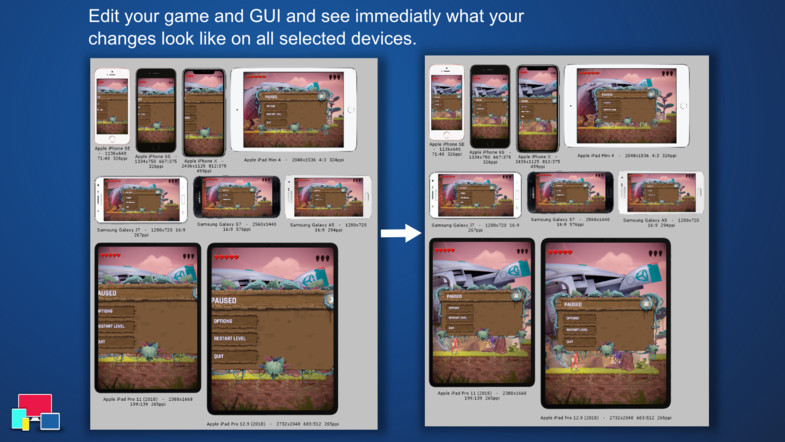 Multi Device Preview & Gallery