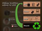 Optimized ScrollView Adapter (ListView, GridView) - Unity Asset