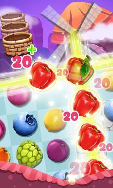 Panda Fruit Farm - Match 3