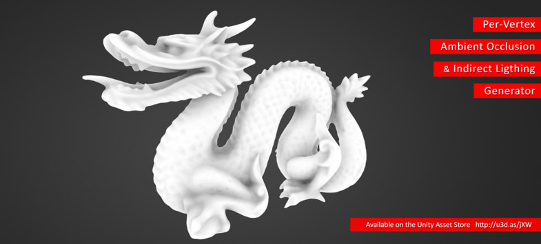 Per-Vertex Ambient Occlusion And Indirect Lighting Generator