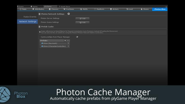 Photon Blox (plyGame + Photon)