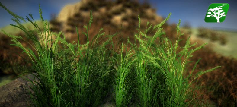 Realistic Grass and Bush Pack2