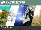 SC Post Effects Pack - Unity Asset