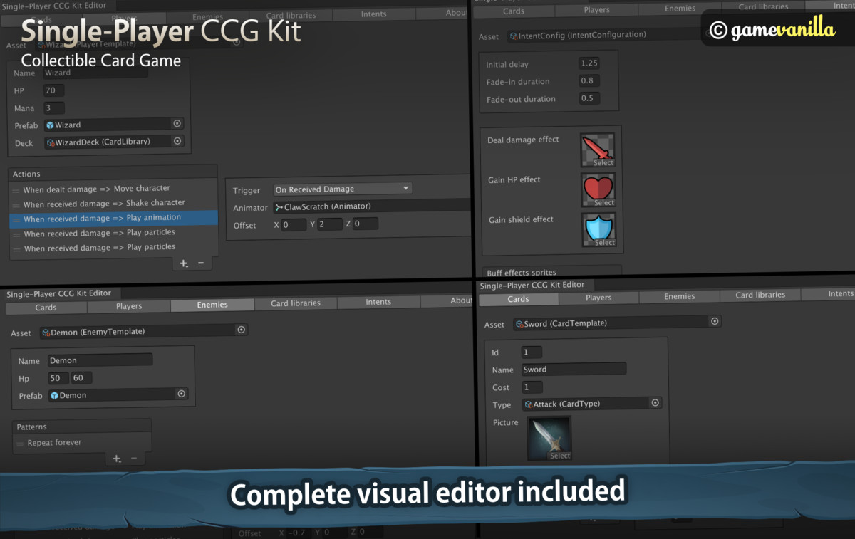 Single-Player CCG Kit