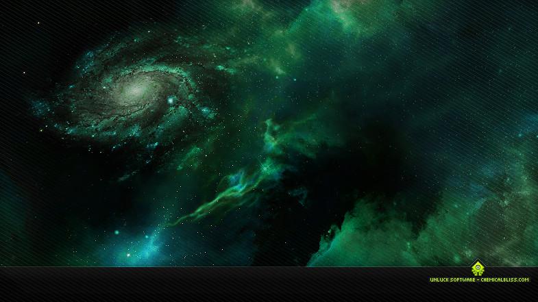 Skybox Green Nebula