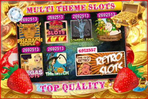 Slot Machine - Android & iOS - Casino Game