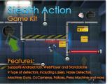 Stealth Action Game Kit - Unity Asset