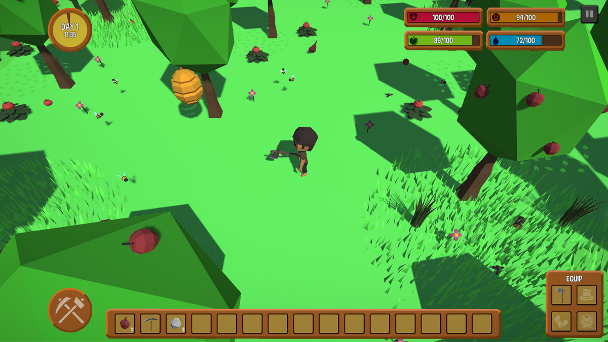 Survival Engine - Crafting, Farming, Fighting and more..
