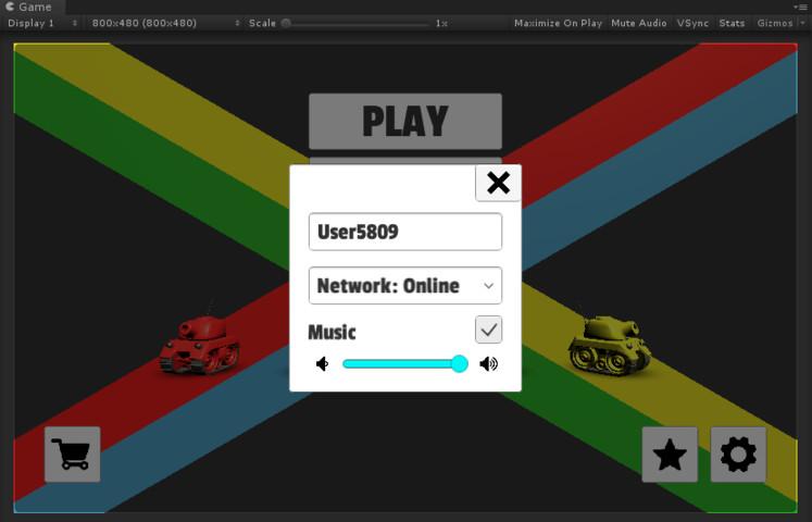 Tanks Multiplayer