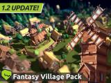 TARBO - Lowpoly Fantasy Village Pack - Unity Asset