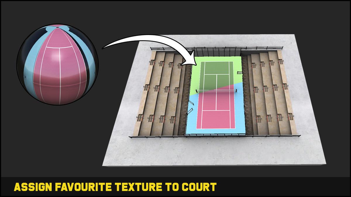 Tennis Game Assets