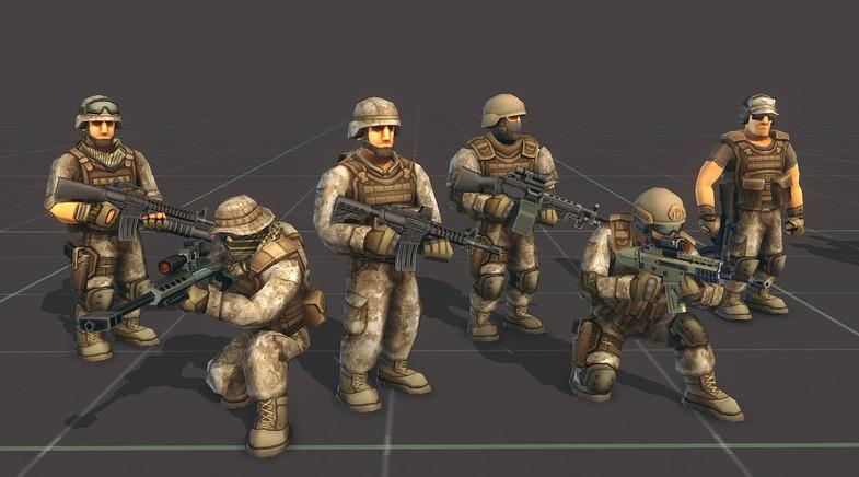Toon Soldiers - Armies