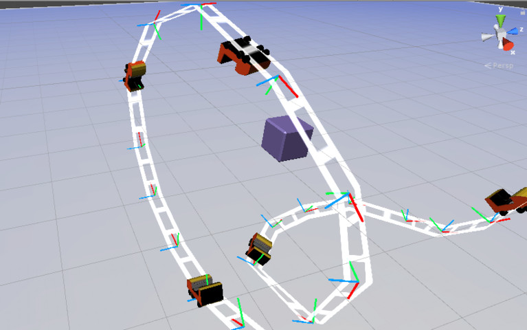 Track Roller Coaster Rail Keypoint Basic Editor